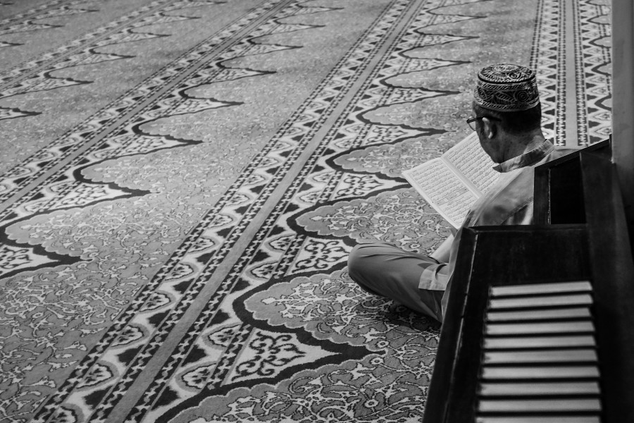 do not be preoccubied with anything other than the Quran