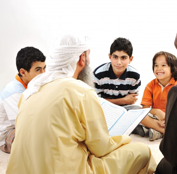 The best amongst you is the one who learns the Qur'an and teaches it